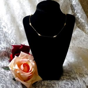 Pretty vintage gold with pearls